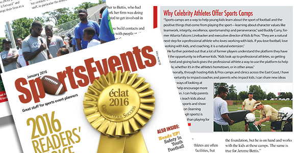 Clients Featured: Winning Combinations: Planning Kids Sports Camps With Celebrity Athletes